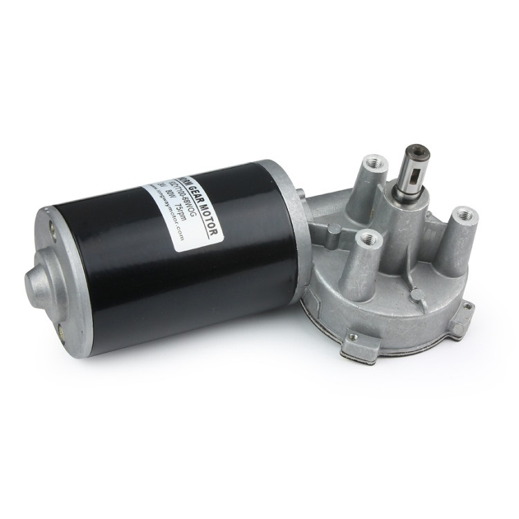 88mm DC Worm Gear Motor